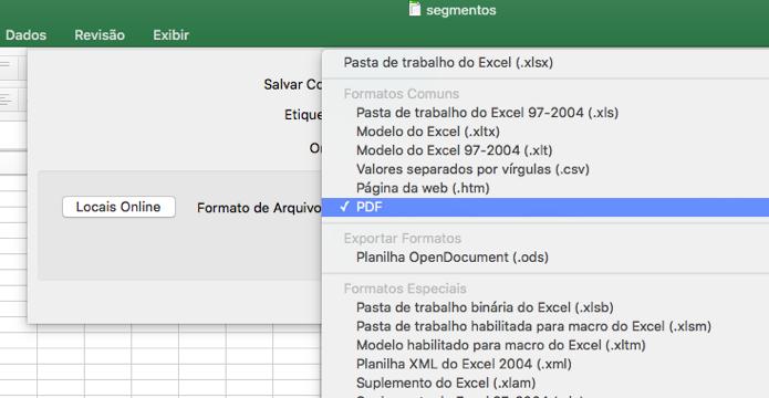 Como salvar um arquivo de Excel como PDF   Dicas e