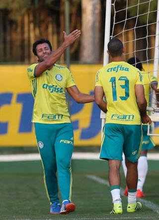 Alberto Valentim elenco Palmeiras (Foto: Fabio Menotti/Ag Palmeiras/Divulgação)