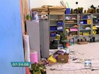 Escola desocupada por alunos na Zona Leste é alvo de vandalismo