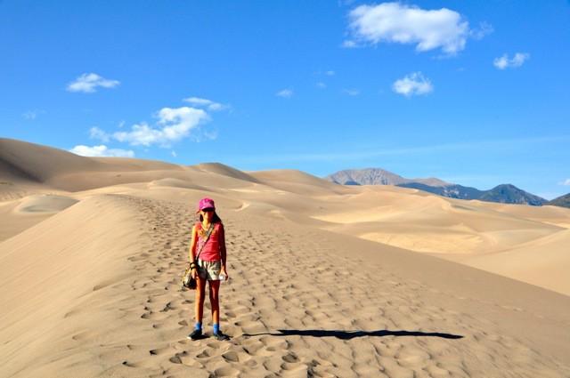 Parque Nacional de Great Sand Dunes, no Colorado, EUA (Foto: Reprodução/Dreamtime Traveler)