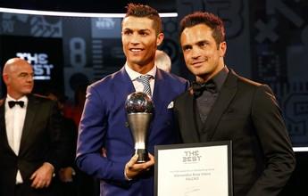 Falcão diz que prêmio na Fifa foi seu ápice e que futuro na seleção é incerto