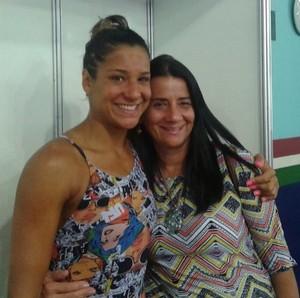 Joanna Maranhão e Teresinha Maranhão (Foto: Reprodução / Instagram)