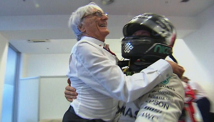 Bernie Ecclestone e Nico Rosberg