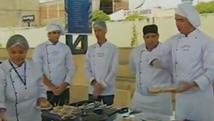 Alunos integram ação em Santa Cruz do Capibaribe (Reprodução/ TV Asa Branca)