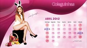 Calendário 2012: Coleguinhas do Caldeirão do Huck
