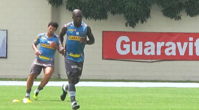 Treino Botafogo Seedorf (Foto: Fred Huber)