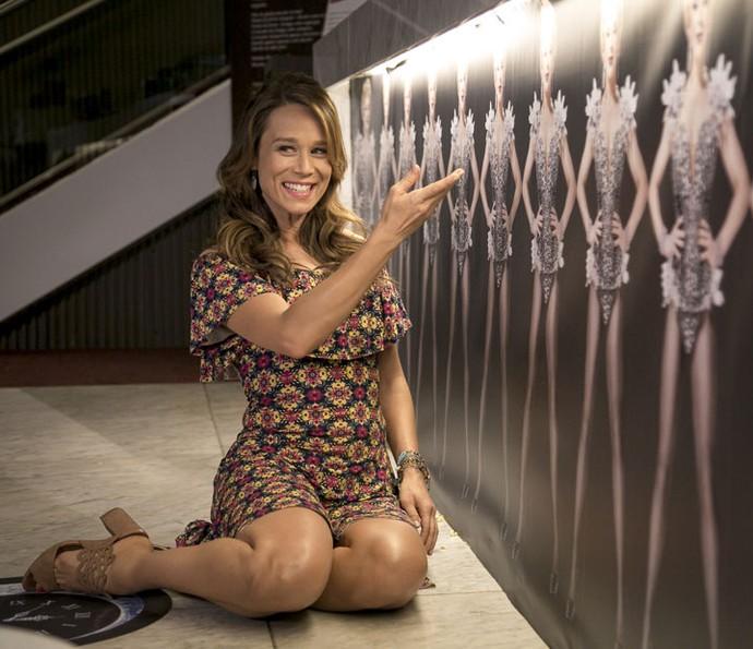 Mariana Ximenes celebra parceria com Claudia Raia em 'Haja': 'Especial' (Foto: Isabella Pinheiro/Gshow)