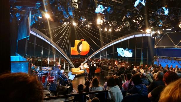Jô Soares em gravação de seu último programa (Foto: EGO)