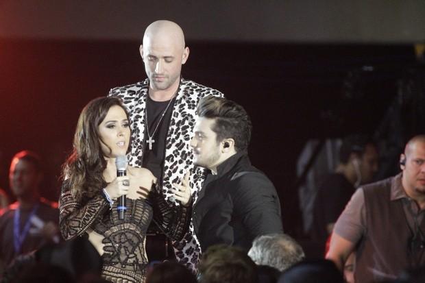 Tatá Werneck, Paulo Gustavo e Luan Santana (Foto: AgNews)