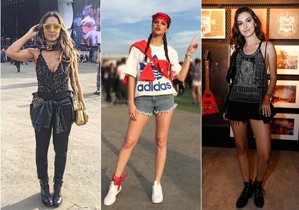 Look das famosas no Rock in Rio (Foto: Instagram/Reprodução)