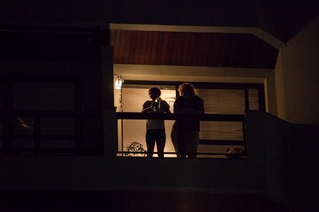 Panelaço em Moema, São Paulo (Foto: Fabio Tito/G1)