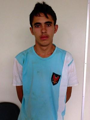 Sávio Emanoel da Silva, de 18 anos, admitiu o crime em depoimento (Foto: Divulgação/Polícia Civil do RN)
