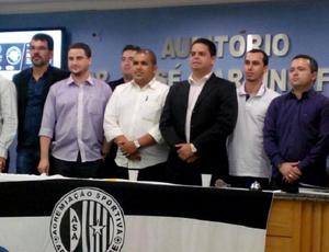 Bruno Euclides assume a presidência do ASA (Foto: Divulgação ASA)