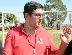 Phillipe Benencase treinador Araxá Red Wolves (Foto: Araxá Red Wolves/Divulgação)
