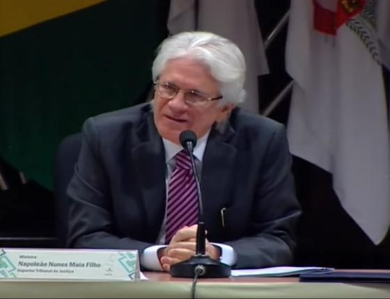 Napoleão Nunes Maia Filho, ministro do STJ (Foto: Reprodução/ Youtube)