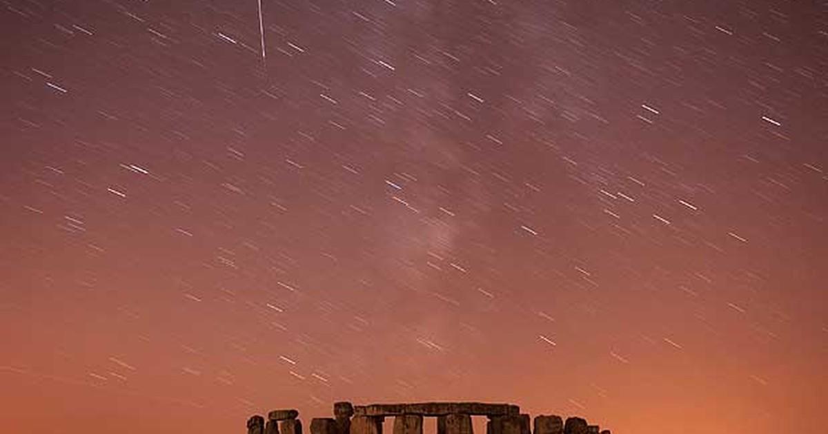 Chuva de meteoros atinge a Terra e poderá ser vista no país