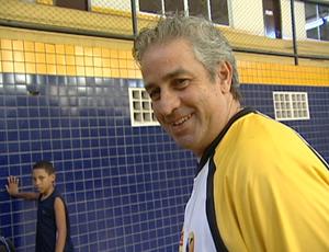 Daniel Wattfy, técnico do Vila Velha/Cetaf (Foto: Reprodução/TV Gazeta)
