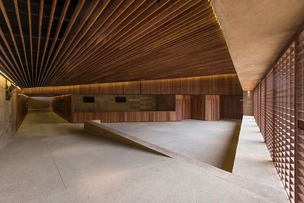 Sítio arqueológico mexicano ganha centro cultural geométrico (Foto: Divulgação)