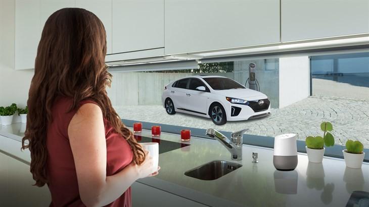 Hyundai e Google Home (Foto: Divulgação)