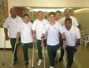 Seleção Brasileira Futebol para Amputados (Foto: Arquivo Pessoal/Rogério Rodrigues)