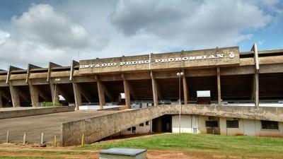 Estádio Morenão (Foto: Hélder Rafael)