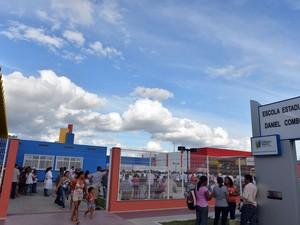 Unidade de ensino em Ecoporanga vai receber o projeto Escola Viva (Foto: Thiago Guimarães/ Secom-ES)