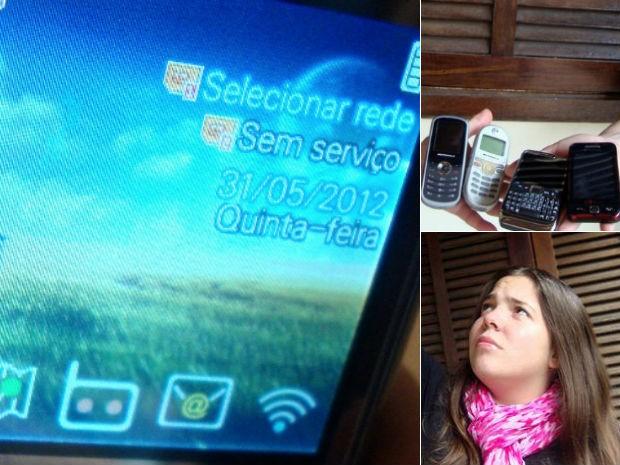Celulares (Foto: Ana Cristina Herrero de Morais)