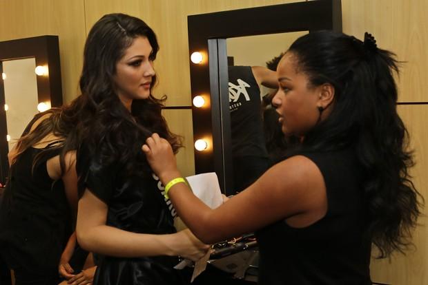 Canditadas ao Miss São Paulo 2017 (Foto: Cláudio Augusto/Brazil News)