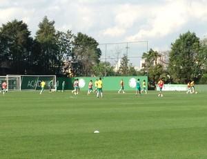 Palmeiras treino (Foto: Rodrigo Faber)