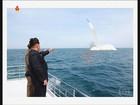 Coreia do Norte afirma que lançou míssil de submarino