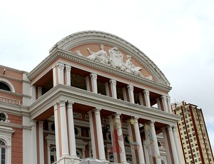 Teatro Amazonas, Manaus (Foto: Frank Cunha/GLOBOESPORTE.COM)