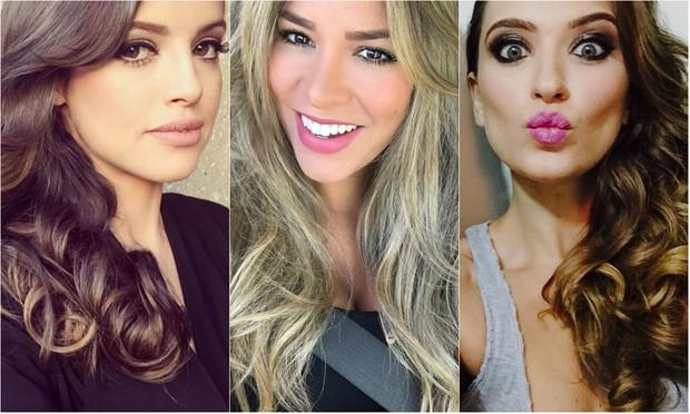 Agatha Moreira, Adriana Sant'Anna e Juliana Boller (Foto: Reprodução / Instagram)