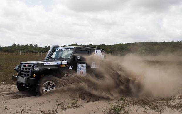 Quinta etapa do Cearense de Rally ocorreu no sábado (Foto: Divulgação / André Rocha)