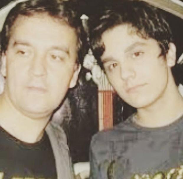 Luan Santana com seu pai, Amarildo: homenagem (Foto: Reprodução /  Instagram)