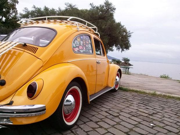Fusca foi recomprado depois de 8 anos (Foto: Elizandro Pastoriza/VC no AutoEsporte)