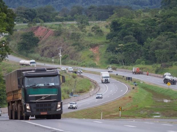 Anápolis é a cidade com maior incidência de furto e roubo de cargas em Goiás (Foto: Vitor Santana/G1)