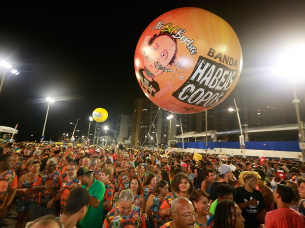Bloco Habeas Copos na Barra (Foto: Mauro Zaniboni/Ag. Haack)