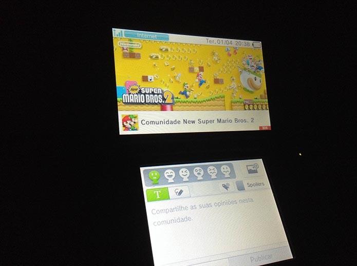 Nintendo 3DS: aprenda a tirar screenshots dos seus games (Foto: Reprodução/Murilo Molina) (Foto: Nintendo 3DS: aprenda a tirar screenshots dos seus games (Foto: Reprodução/Murilo Molina))