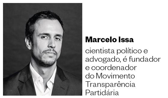 Marcelo Issa, fundador do Movimento Transparência Partidária (Foto: Editoria de Arte)