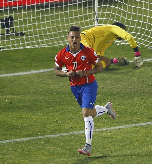 Varga na final (Agência Reuters)