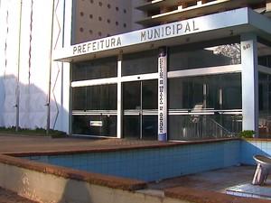 Prefeitura de Araraquara (Foto: Felipe Lazzarotto/EPTV)