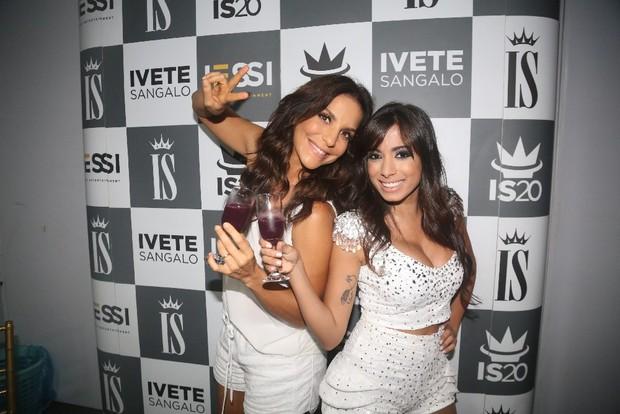 Ivete Sangalo e Anitta (Foto: Fred Pontes/Divulgação)