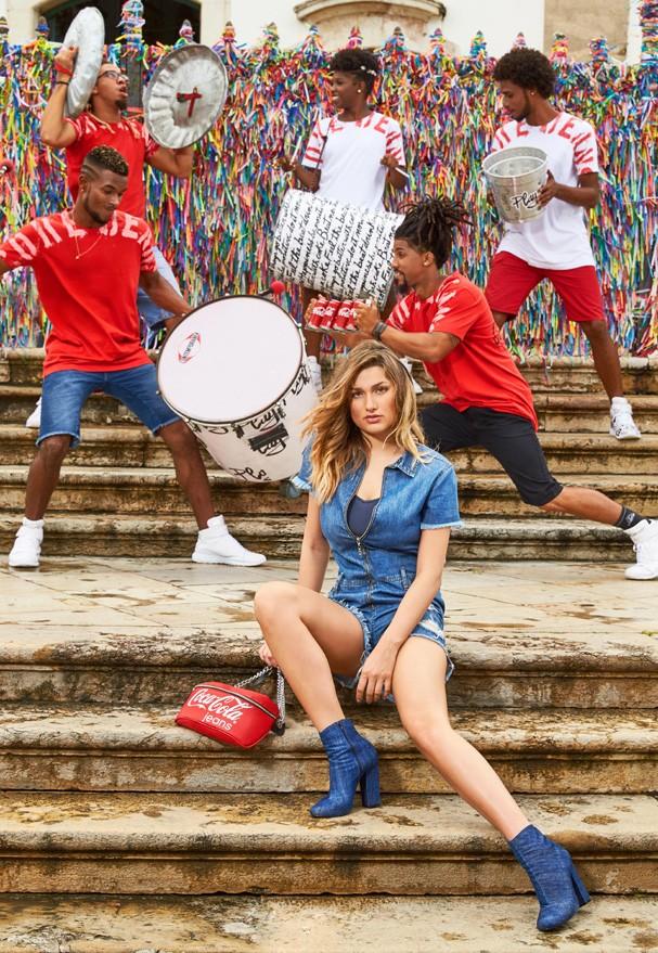 Campanha Coca- Cola Jeans (Foto: Divulgação)