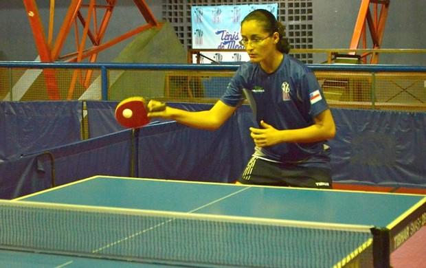 Amanda Marques, tênis de mesa, amazonas (Foto: Emanuel Mendes Siqueira/Sejel)