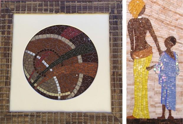 Exposição de mosaicos: Juntando os Cacos é exibida no Espaço Ceddo (Foto: Divulgação)