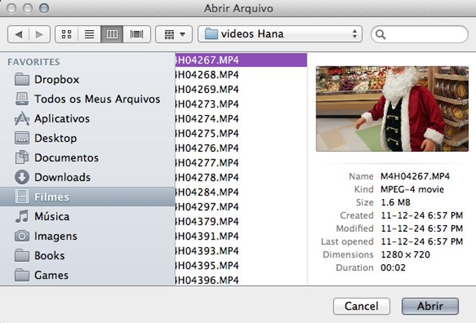 Abrindo um arquivo através do Media Player Portable é como abrir um arquivo no VLC padrão. (Foto: Reprodução)