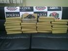 Polícia apreende mais de 30 tijolos de maconha no Centro de São Paulo