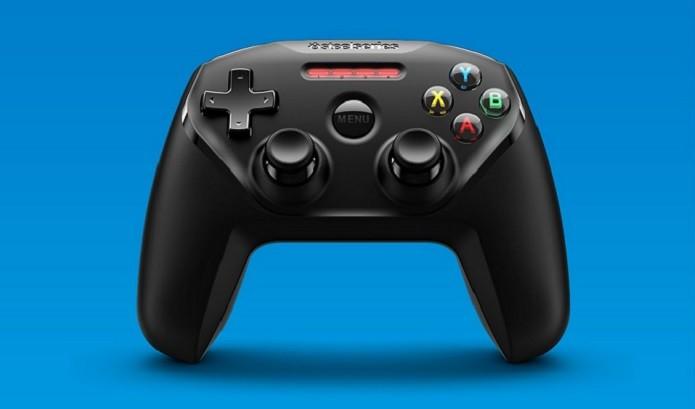 Nimbus tem design parecido com controle do Xbox (Foto: Divulgação/SteelSeries)
