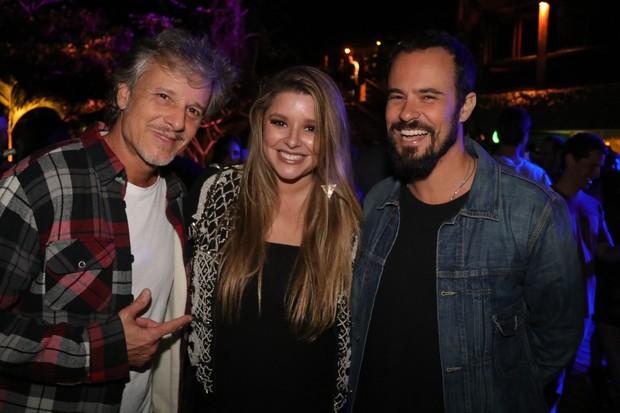 Marcello Novaes, Manu Maya e Paulinho Vilhena (Foto: Fred Pontes/Divulgação)