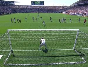 Jadson penalti Corinthians (Foto: Reprodução)